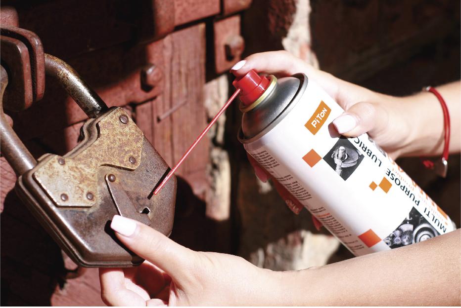 How to lubricate the door